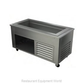 Alluserv ACF9C6 Serving Counter, Cold Food