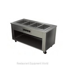 Alluserv AHF4 Serving Counter, Hot Food, Electric