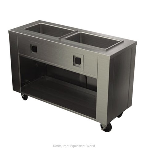 Alluserv ASLHC2 Serving Counter Hot Food Steam Table Electric