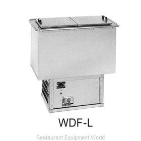 Atlas Metal WDF-L Ice Cream Dipping Cabinet, Drop-In
