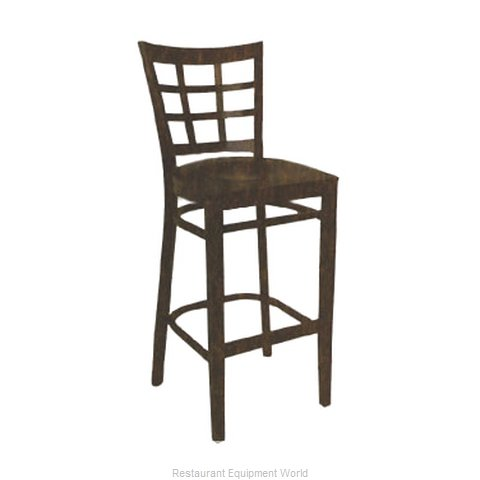 ATS Furniture 523-BS-W VS Bar Stool, Indoor