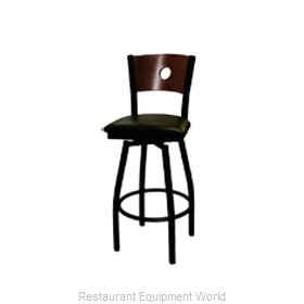 ATS Furniture 77A-BSS-W GR5 Bar Stool, Swivel, Indoor