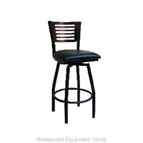 ATS Furniture 77E-BSS-W BVS Bar Stool, Swivel, Indoor