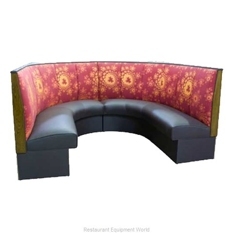 ATS Furniture AS-483-12 GR6 Dining Booth