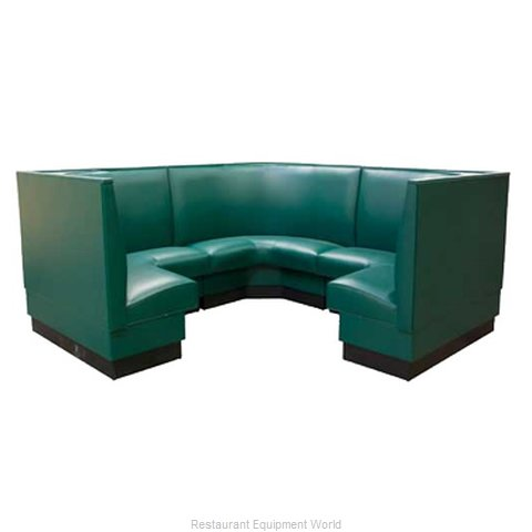 ATS Furniture AS-48VN-34 GR6 Dining Booth