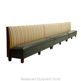 ATS Furniture AS48-B-WALL GR6 Booth