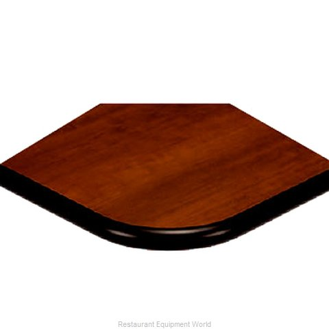 ATS Furniture ATB2424-BK P1 Table Top, Laminate