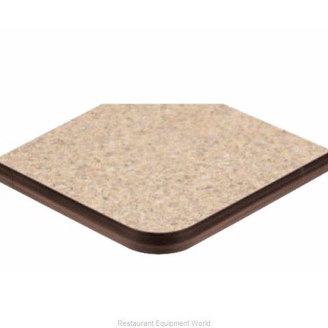 ATS Furniture ATS3636-BR P2 Table Top, Laminate