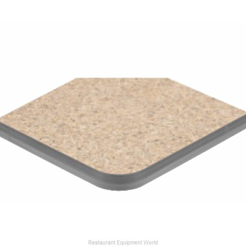 ATS Furniture ATS3636-GY P2 Table Top Laminate (Magnified)