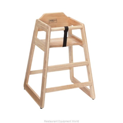ATS Furniture HC-N High Chair, Wood (Magnified)