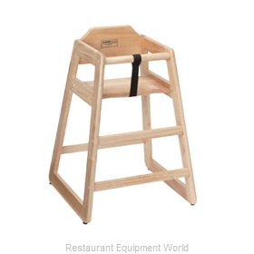 ATS Furniture HC-N High Chair, Wood