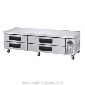 Blue Air Commercial Refrigeration BACB86M Refrigerated Counter, Griddle Stand