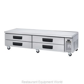 Blue Air Commercial Refrigeration BACB96M Refrigerated Counter, Griddle Stand