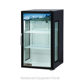 Blue Air Commercial Refrigeration BAGR7W Refrigerator, Merchandiser, Countertop