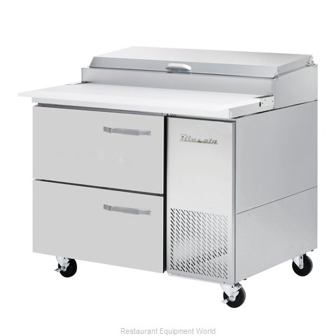 Blue Air Commercial Refrigeration BAPP44-D2-HC Refrigerated Counter, Pizza Prep