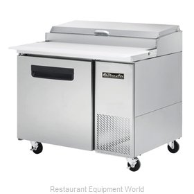 Blue Air Commercial Refrigeration BAPP44 Refrigerated Counter, Pizza Prep Table