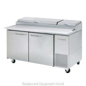 Blue Air Commercial Refrigeration BAPP67-HC Refrigerated Counter, Pizza Prep Tab