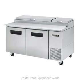 Blue Air Commercial Refrigeration BAPP67 Refrigerated Counter, Pizza Prep Table