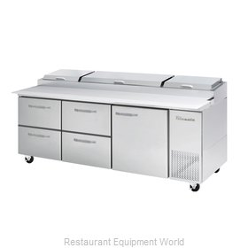 Blue Air Commercial Refrigeration BAPP93-D4LM-HC Refrigerated Counter, Pizza Pre