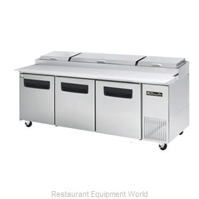 Blue Air Commercial Refrigeration BAPP93 Refrigerated Counter, Pizza Prep Table