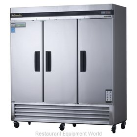 Blue Air BASR3 2-Section Reach-In Refrigerator