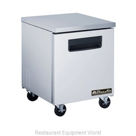 Blue Air BAUR28 Undercounter Reach-In Freezer 1-Section