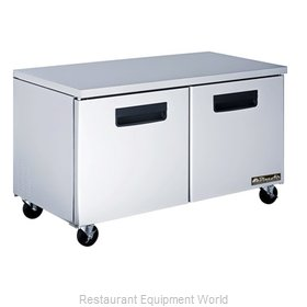 Blue Air BAUR60 Undercounter Reach-In Freezer 2-Section