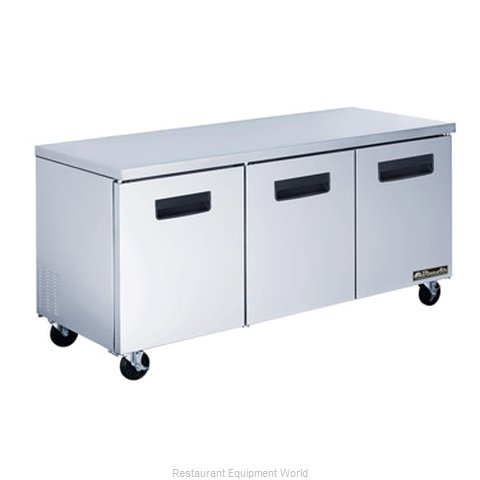 Blue Air BAUR72 Undercounter Reach-In Freezer 3-Section