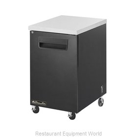 Blue Air Commercial Refrigeration BBB23-1S Back Bar Cabinet, Refrigerated