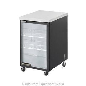 Blue Air Commercial Refrigeration BBB23-1SG Back Bar Cabinet, Refrigerated
