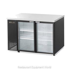 Blue Air Commercial Refrigeration BBB59-2BG Back Bar Cabinet, Refrigerated