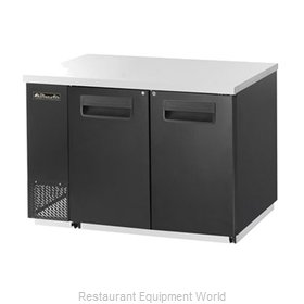 Blue Air Commercial Refrigeration BBB59-2S Back Bar Cabinet, Refrigerated