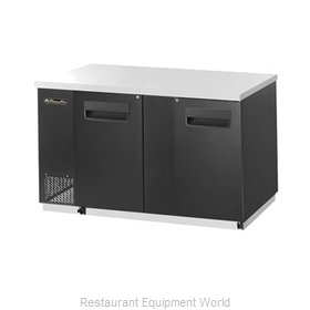 Blue Air Commercial Refrigeration BBB69-3B Back Bar Cabinet, Refrigerated