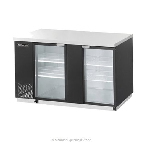 Blue Air BBB69-3BG Refrigerated Backbar Cabinet