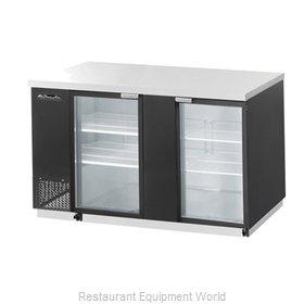 Blue Air Commercial Refrigeration BBB69-3BG Back Bar Cabinet, Refrigerated