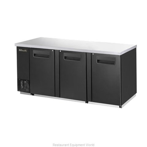 Blue Air Commercial Refrigeration BBB90-4B Back Bar Cabinet, Refrigerated