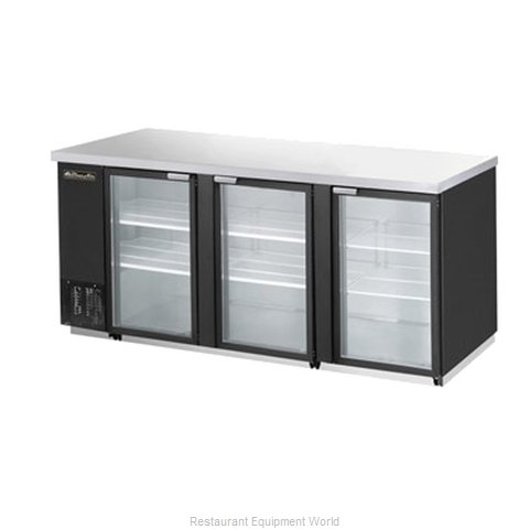Blue Air BBB90-4BG Refrigerated Backbar Cabinet