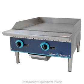 Blue Air Commercial Refrigeration BFMG-24 Griddle, Gas, Countertop