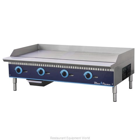 Blue Air Commercial Refrigeration BFMG-48 Griddle, Gas, Countertop