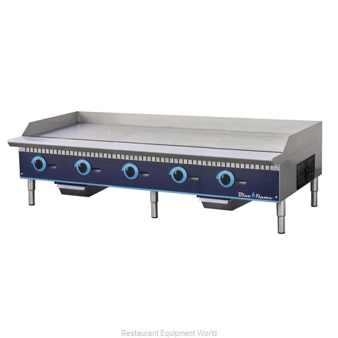 Blue Air Commercial Refrigeration BFMG-60 Griddle, Gas, Countertop