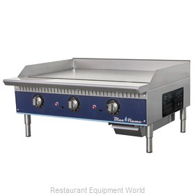 Blue Air Commercial Refrigeration BFTG-36 Griddle, Gas, Countertop