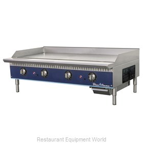 Blue Air Commercial Refrigeration BFTG-48 Griddle, Gas, Countertop