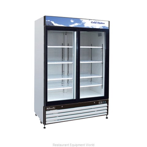 Blue Air Commercial Refrigeration BGM48L Refrigerator Merchandiser (Magnified)