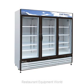 Blue Air Commercial Refrigeration BGM72 Refrigerator Merchandiser