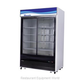Blue Air Commercial Refrigeration BKGM48SL-HC Refrigerator, Merchandiser