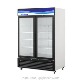 Blue Air Commercial Refrigeration BKGM49-HC Refrigerator, Merchandiser