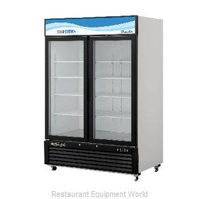 Blue Air Commercial Refrigeration BKGM49 Refrigerator, Merchandiser