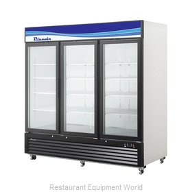 Blue Air Commercial Refrigeration BKGM72-HC Refrigerator, Merchandiser