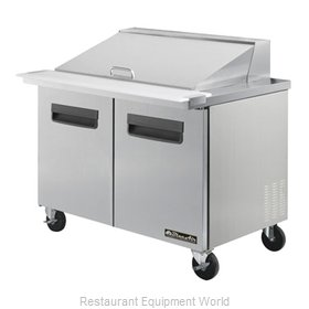Blue Air Commercial Refrigeration BLMT48 Refrigerated Counter, Mega Top Sandwich