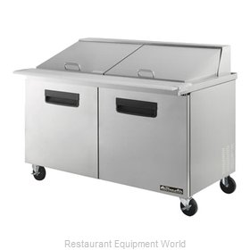 Blue Air Commercial Refrigeration BLMT60 Refrigerated Counter, Mega Top Sandwich